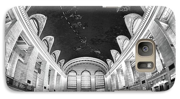 Galaxy Case featuring the photograph Grand Central Station by Mitch Cat
