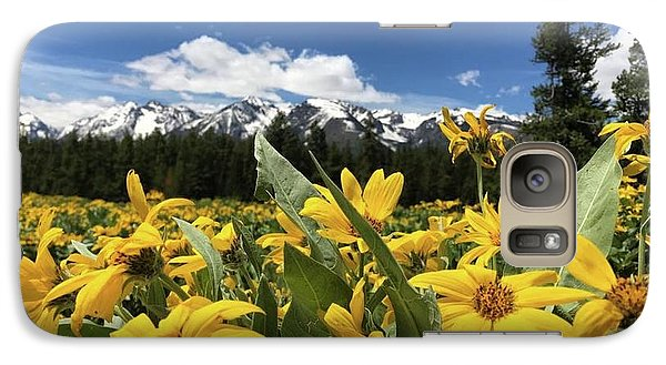 Grand Teton Mountains Galaxy S7 Case