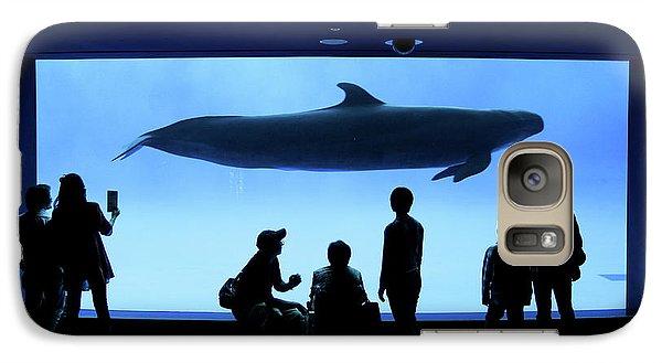 Grand Whale Galaxy S7 Case by Tatsuya Atarashi