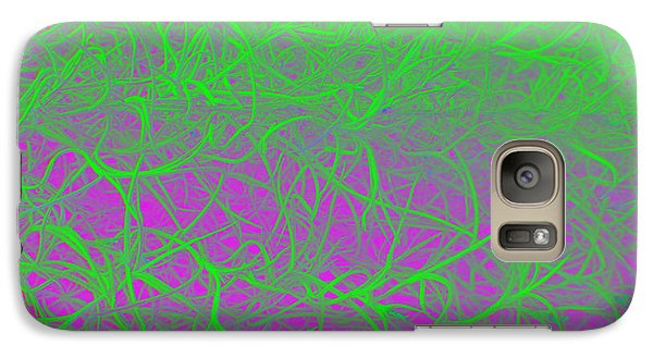 Galaxy Case featuring the photograph Grandfather's Beard - Punked by Linda Hollis