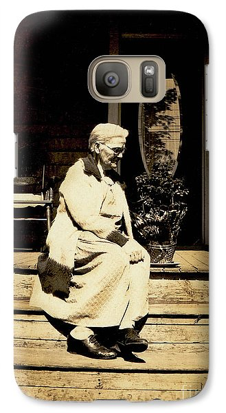 Galaxy Case featuring the photograph Grandma Jennie by Paul W Faust - Impressions of Light