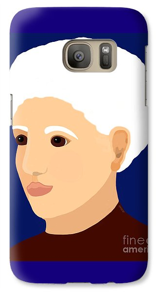 Galaxy Case featuring the painting Grandmother by Marian Cates