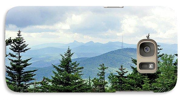 Galaxy Case featuring the photograph Grandmother Mountain by Meta Gatschenberger