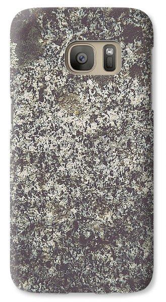 Granite Background Galaxy S7 Case by Brandon Bourdages