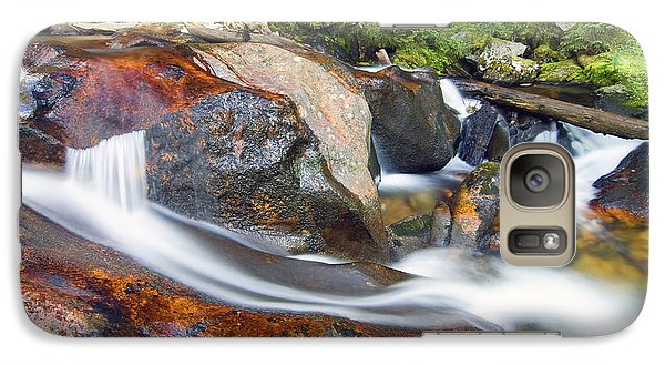 Galaxy Case featuring the photograph Granite Falls by Gary Lengyel