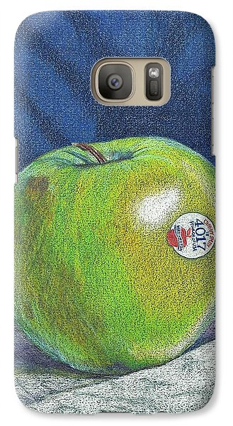 Galaxy Case featuring the painting Granny Smith by Robert Decker