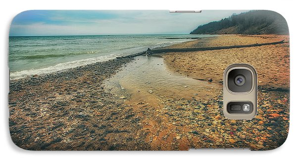 Galaxy Case featuring the photograph Grant Park - Lake Michigan Beach by Jennifer Rondinelli Reilly - Fine Art Photography
