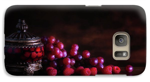 Grape Raspberry Galaxy S7 Case