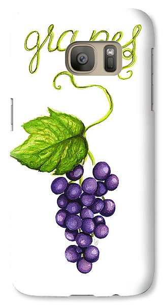 Galaxy Case featuring the painting Grapes by Cindy Garber Iverson