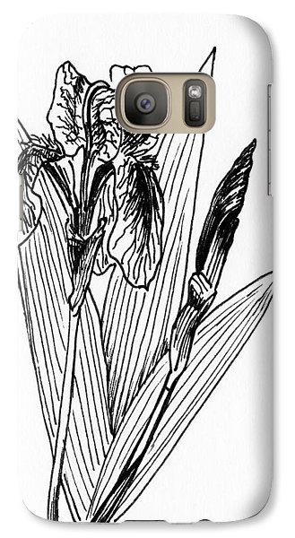 Graphic Iris Galaxy Case by Masha Batkova
