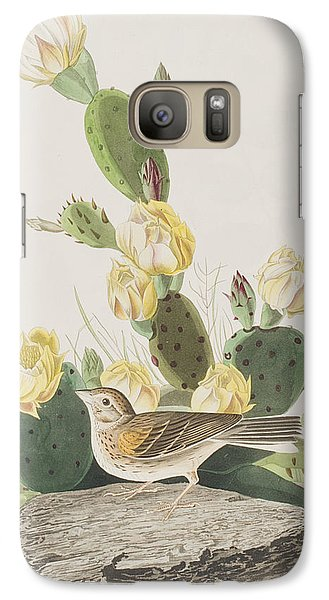 Grass Finch Or Bay Winged Bunting Galaxy S7 Case