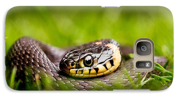 Grass Snake - Natrix Natrix Galaxy S7 Case