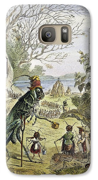 Grasshopper And Ant Galaxy S7 Case by Granger