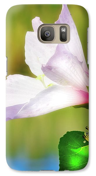 Grasshopper And Flower Galaxy S7 Case