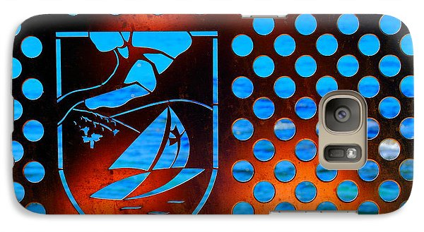 Galaxy Case featuring the photograph Grate View by Richard Patmore
