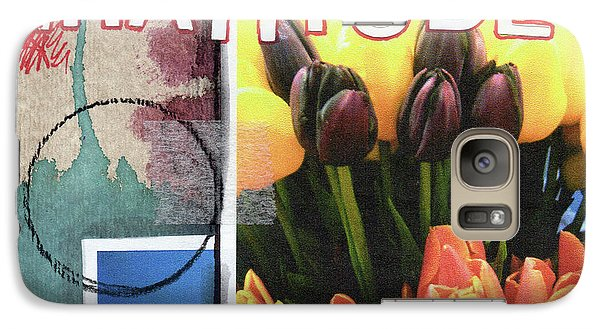 Tulip Galaxy S7 Case - Gratitude- Art By Linda Woods by Linda Woods