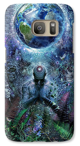 Gratitude For The Earth And Sky Galaxy S7 Case