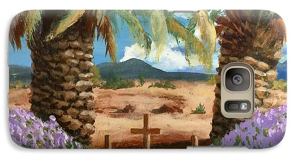 Galaxy Case featuring the painting Gratitude Reminder  by Bonnie Heather
