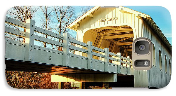 Grave Creek Covered Bridge Galaxy S7 Case