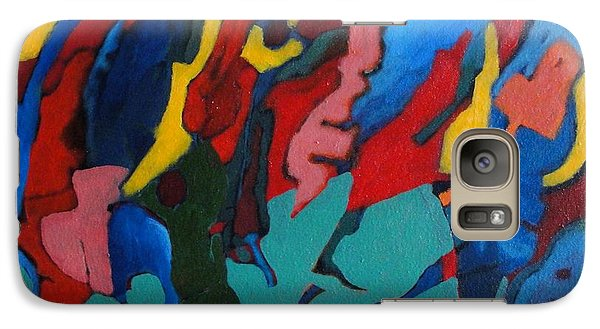 Galaxy Case featuring the painting Gravity Prevails by Bernard Goodman