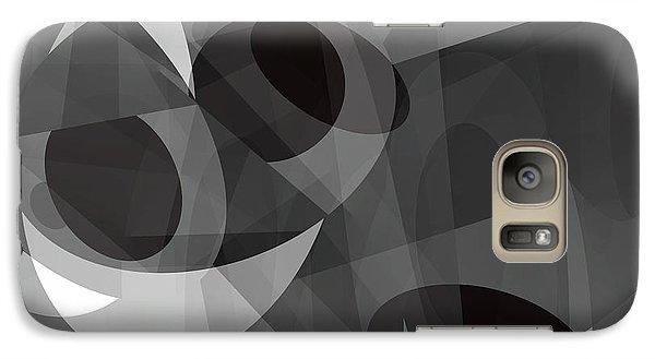 Galaxy Case featuring the digital art Gray On Gray by Lynda Lehmann