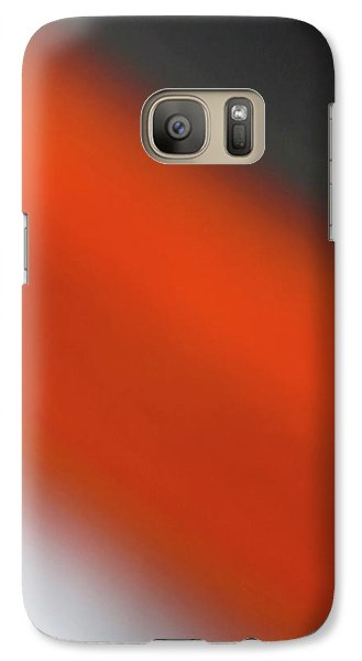 Galaxy Case featuring the photograph Gray Orange Grey by CML Brown