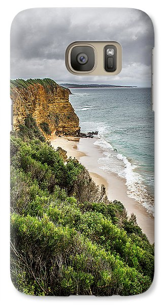 Galaxy Case featuring the photograph Gray Skies by Perry Webster