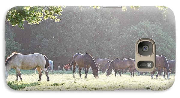 Galaxy Case featuring the photograph Grazing by Gary Bridger