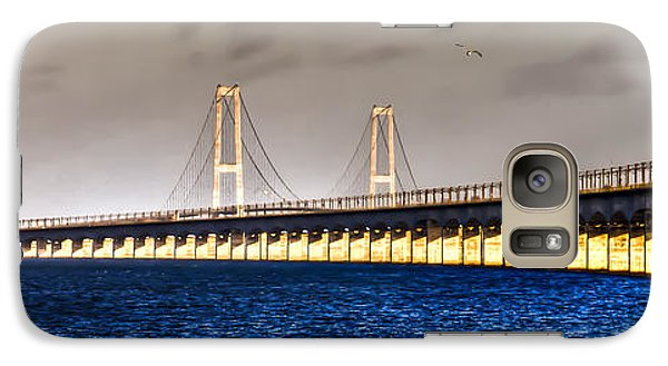 Galaxy Case featuring the photograph Great Belt Bridge by Gert Lavsen