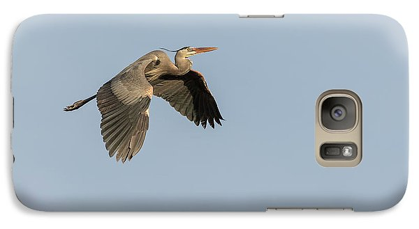 Galaxy Case featuring the photograph Great Blue Heron 2015-15 by Thomas Young