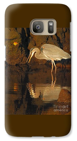 Great Blue Heron Galaxy S7 Case