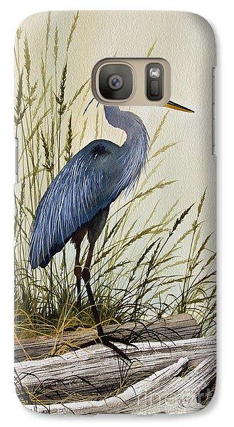 Wildlife Galaxy S7 Case - Great Blue Heron Splendor by James Williamson