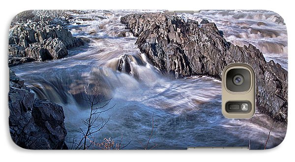 Galaxy Case featuring the photograph Great Falls Virginia by Suzanne Stout
