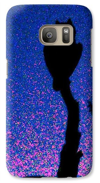 Great Horned Owl In The Desert Galaxy S7 Case