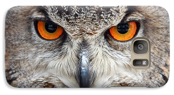 Galaxy Case featuring the photograph Great Horned Owl by Pierre Leclerc Photography