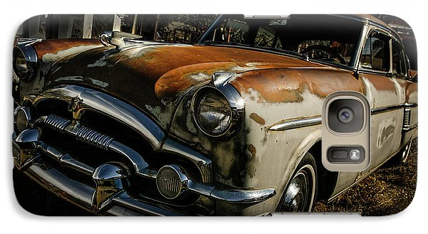 Galaxy Case featuring the photograph Great Old Packard by Marilyn Hunt