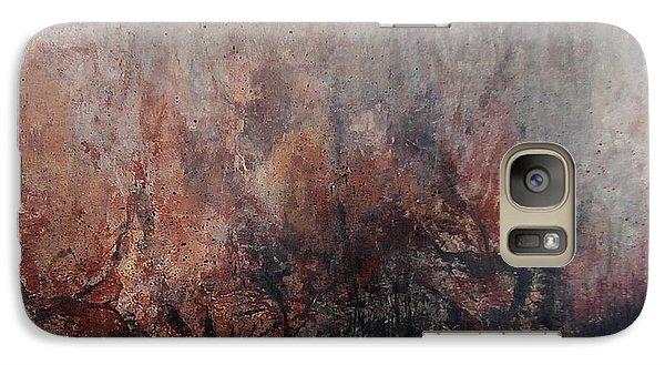 Galaxy Case featuring the painting Great Peshtigo by Buck Buchheister