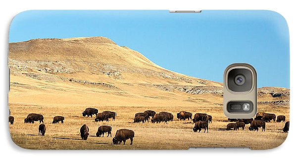 Great Plains Buffalo Galaxy S7 Case