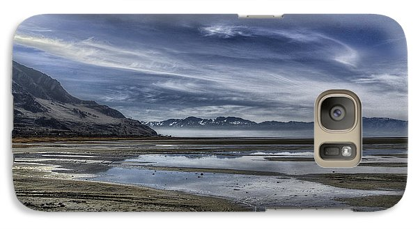 Galaxy Case featuring the photograph Great Salt Lake Vista by Wendell Thompson