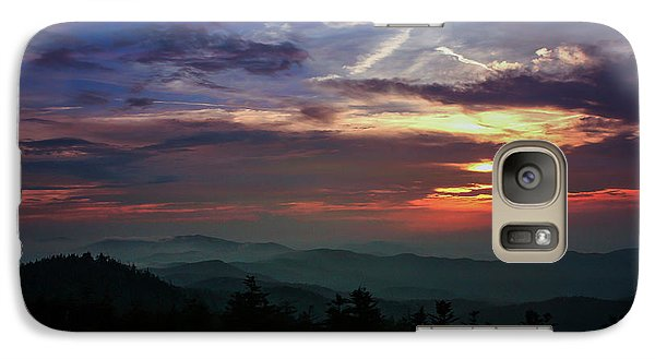 Galaxy Case featuring the photograph Great Smoky Sunsets by Jessica Brawley