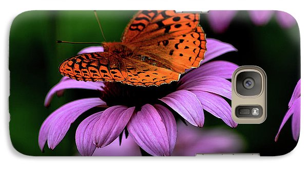 Galaxy Case featuring the photograph Great Spangled Fritillary by Brenda Bostic