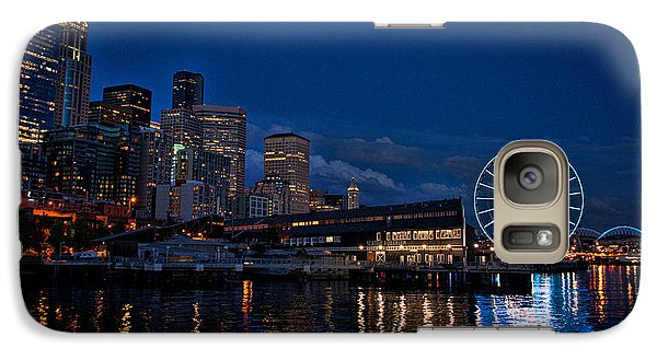 Galaxy Case featuring the photograph Great Wheel by Jerry Cahill
