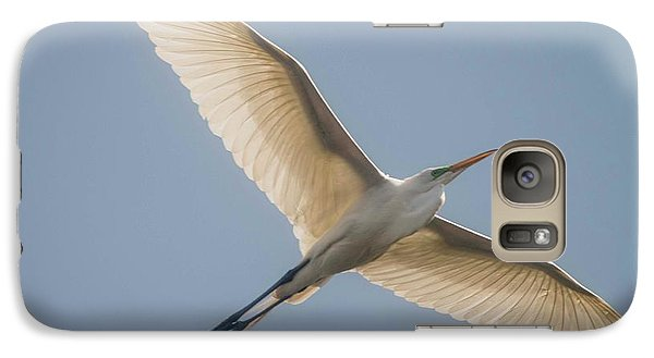 Galaxy Case featuring the photograph Great White Egret by David Bearden