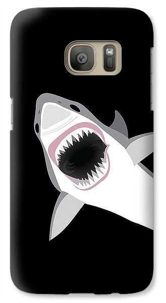 Great White Shark Galaxy Case by Antique Images