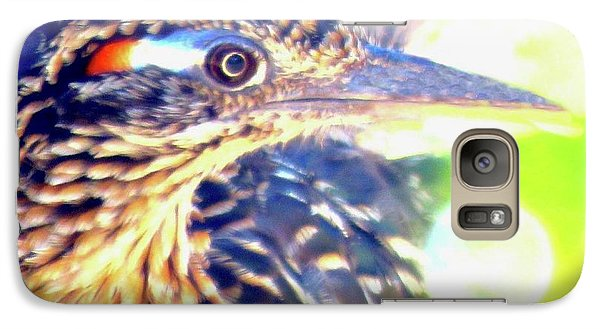 Greater Roadrunner Portrait 2 Galaxy S7 Case