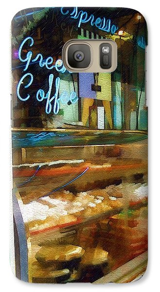 Galaxy Case featuring the photograph Greek Coffee by Sandy MacGowan
