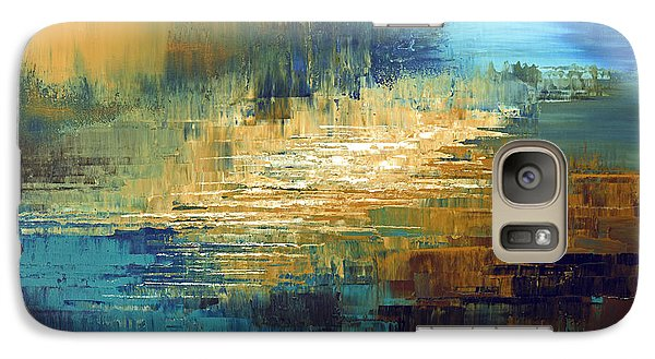 Galaxy Case featuring the painting Greek Isles by Tatiana Iliina