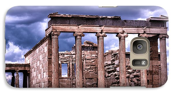 Galaxy Case featuring the photograph Greek Temple by Linda Constant