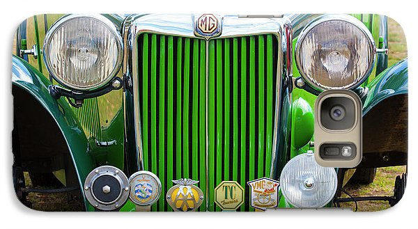 Galaxy Case featuring the photograph Green 1948 Mg Tc by Chris Dutton