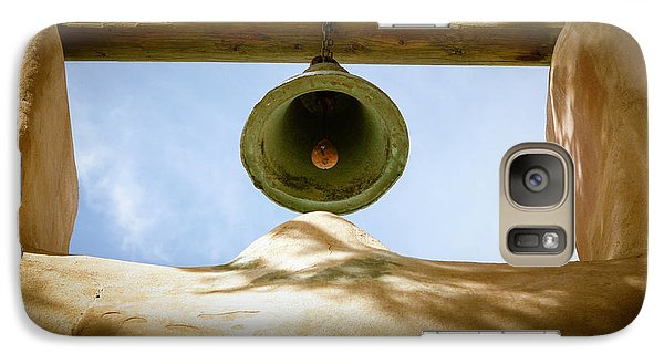 Galaxy Case featuring the photograph Green Church Bell by Marilyn Hunt